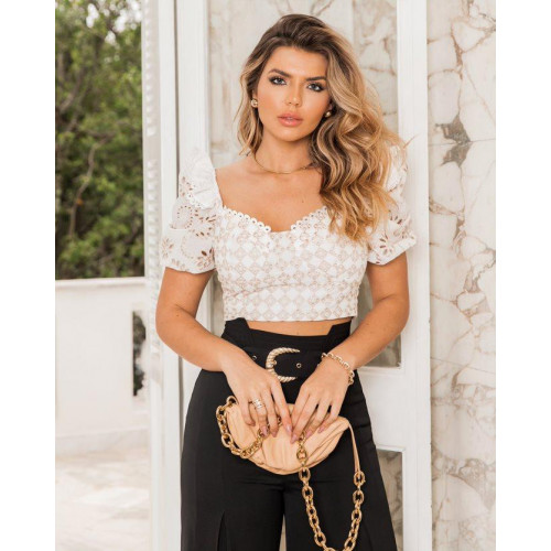 CROPPED LAISE ANA LAURA
